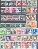Stamp Germany Poland General Gov't Year 1940 Mi 014-62 Set WWII War Era MH