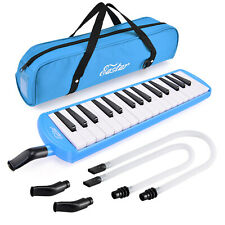 Eastar 32 Key Melodica Instrument Keyboard Soprano Air Piano with Mouthpiece