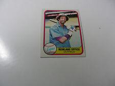 Rowland Office 1981 Fleer card #147