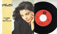 MIETTA disco 45 giri  STAMPA BELGA Cuore di metallo 1991 MADE in BELGIUM