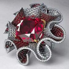 1001 NIGHT SULTANA DUBAI RUBY AND DIAMOND RING AWE-INSPIRING MASTERPIECE OF ART