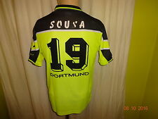 Borussia Dortmund Nike Kinder Heim Trikot 1997/98 + Nr.19 Sousa Gr.164-176
