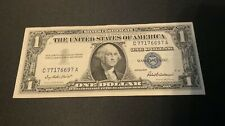 1957 UNITED STATES SILVER CERTIFICATE $1