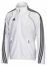 adidas T8 Jacke weiß Kinder Jugend Sportjacke Gr. 164 - 505152