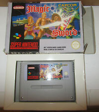 Magic Sword SNES Super Nintendo Capcom SPESE GRATIS