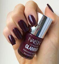 Nails Inc HANOVER SQUARE Deep Burgundy Wine Red Nail Polish BNIB Chic LTD FAB!!!