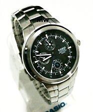 Casio EF-305D-1AV 3-Eye Analog Men's Chrono Day Date Stainless Steel 100M Watch