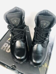 Rocky Mens Alpha Force-2167 Closed Toe Ankle Military Boots, Black, Size 91/2W