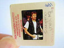 More details for original press photo slide negative - bryan adams - 1984 - c