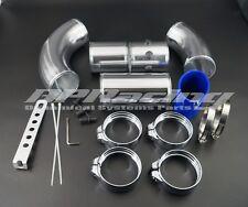 Universal 3 Inch Aluminium Air Filter Turbo Intake Intercooler Piping Kit Pipe