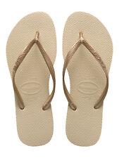Havaianas Slim Infradito da Bambina Beige (sand Grey/light Golden 2719) 27/28