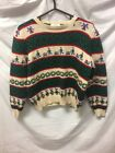 VTG Susan Bristol Winter Christmas Sweater Womens Sz L/P - Ugly Party Vintage