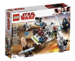 LEGO STAR WARS 75206 - Battle Pack Jedi e Clone Troopers - NEW