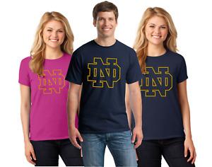University of Notre Dame Tee Shirts Men's & Women's up to 5x