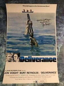 GFA Deliverance '72 Movie Ed * JON VOIGHT * Signed 12x18 Photo J4 COA