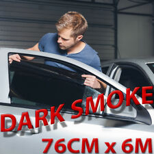 DARK SMOKE 15% CAR WINDOW TINT FILM KIT 76CM x 6M. FULL VIDEO & TOOLS. THE BEST!