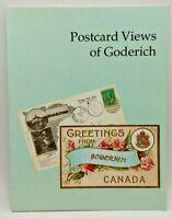 Postcard Views of Goderich - 1995, Illustrated Trade PB - Historic Ontario