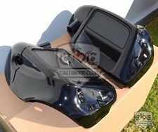Lower Vented Fairings Unpainted with Mounting Hardware for 2014+ Harley-Davidson