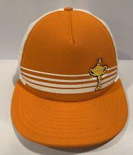 2012 Ryder Cup Hat Medinah Cc Adjustable Snap Backstrap Orange & White