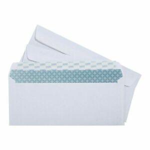 NEW Staples Easy Close #10 Security-Tint Envelopes 100/Box (394057/19037) 50308
