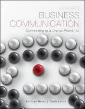 NEW Lesikar's Business Communication: Connecting in a Digital World 13th Edition