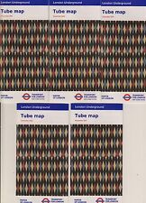 5 LONDON TUBE (UNDERGROUND, SUBWAY, METRO ) MAPS Issue December 2016