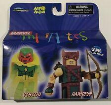 Marvel Mini Mates Series 20 2-Pack Hawkeye & Vision Mini Figure NIB