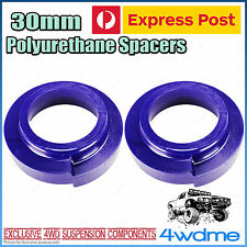 Pair Toyota Landcruiser 80 Series Front 30mm Coil Spring Polyurethane Spacers