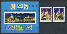 TWO IN ONE - HUNGARY 1982. STAMPDAY - BUDAPEST SET + SHEET GARNITURE MNH (**)