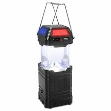 6-LED Portable USB Solar Light Rechargeable Lantern Outdoor Camping Hiking Lamp