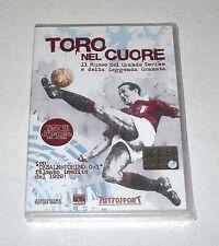 Dvd TORO NEL CUORE Torino Calcio NUOVO Tuttosport Grande Torino