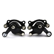 Front + Rear Disc Brake Caliper 47cc 49cc Dirt Mini Pocket Bike Scooter Minimoto