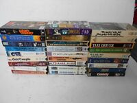 Sunshine Boys Grumpy Old Man Taxi driver Dick Tracy 007 VHS VCR Tapes Lot Of 27