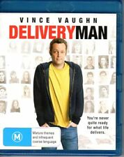 DELIVERY MAN - BLU-RAY REGION B (2014) Vince Vaughn LIKE NEW - FREE POST