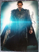 [1753] Russell Crowe SUPERMAN MAN OF STEEL Signed 16x12 Photo AFTAL