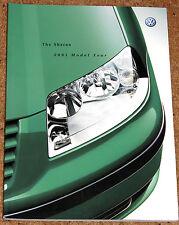 2001 VW SHARAN Sales Brochure - Carat Sport S SE 4MOTION