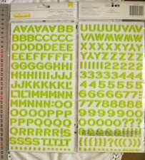 FANTASTIC Foam Thicker Sticker LIMEADE GREEN 18High & 7-18Wide mm L1
