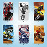 Motorcycle Racing Wallet Case Cover iPhone XS MAX XR X 8 7 6 6S Plus SE 5S 031