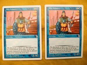 MTG Portal: Three Kingdoms - Wu Infantry x 2