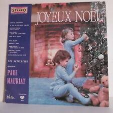 33T Les SATTELLITES & Paul MAURIAT Disque LP JOYEUX NOËL - BEL AIR 7075 F Reduit