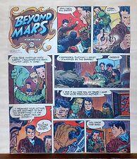 Beyond Mars by Jack Williamson - scarce full tab Sunday comic page Feb. 14, 1954