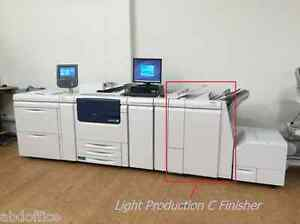 Booklet Maker Finisher with 2-3 Hole Punch for Xerox C75 J75 700 700i V80, TKX