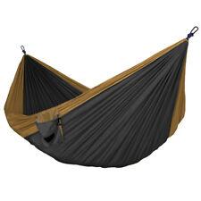 "Best Parachute Nylon Double Hammock Soft Breathable Material 118""(L) x 78""(W)"