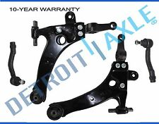 New 4pc Lower Control Arms + Outer Tie Rods for Hyundai Sonata XG350 XG300