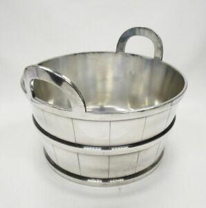 Reed & Barton # 550 8 Half Pt Silver Plated Art Deco Wine / Champagne Ice Bucket