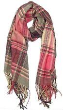 Unisex Tartan Scarf Check Plaid Warm Winter Shawl Women's Ladies Mens Neck Wrap