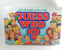 Guess Who Mystery Face Game 1998 2 Players 6 & Up All Pieces No Instructions