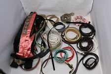 A Lot of Women's Belts - skinny to wide - White, Brown, Black, Red, Multi