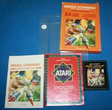 Boxed Atari 2600 Complete with Manual and Cartridge: Missile Command by Atari #2