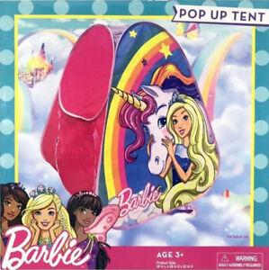 Barbie Child Size Pop Up Tent - NEW
